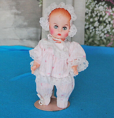 Vintage 8 inch Unmarked Ginny Ginnette  type Baby Doll  - TLC