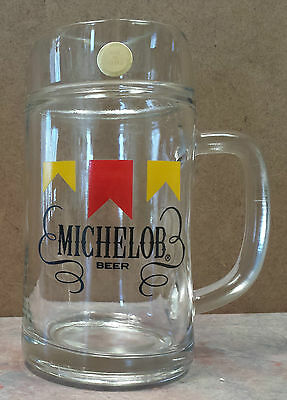 Michelob Beer Glass Mug Collectible 0.5L /16oz Logo Made in Austria