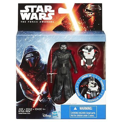 "Star Wars The Force Awakens 3.75"" Action Figure Snow Mission Armour Kylo Ren"
