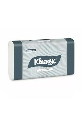 Kleenex Compact Hand Towel 24 Packs x 90 Towels (4440)