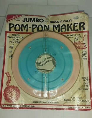 Retro POM-PON MAKER Susan Bates Unused #14062