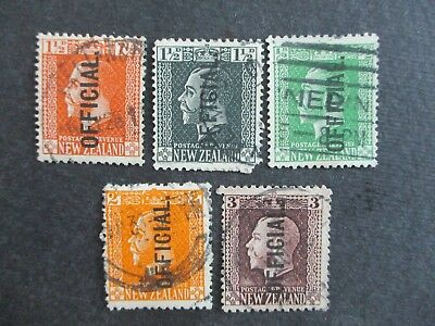 New Zealand Stamps (used) - Excellent Items, Must Have! (9084)
