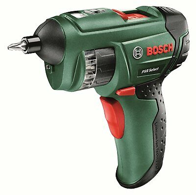 Bosch PSR Select Cordless Screwdriver with Integrated 3.6V Lithium-Ion Battery