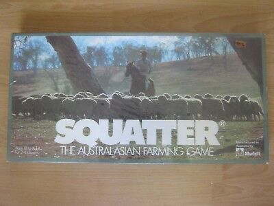NEW AND SEALED - Vintage Squatter Board Game - Made In 1961 - Very Rare !!