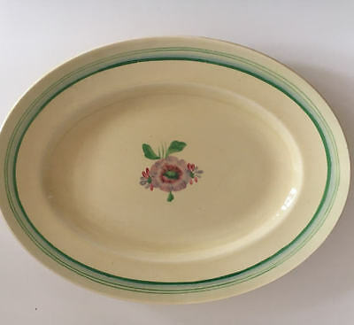 Clarice Cliff Sundew Large Oval Serving Platter No 7159