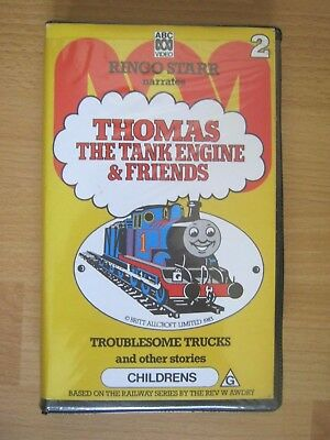Thomas The Tank Engine BETA Tape - Troublesome Trucks And Other Stories