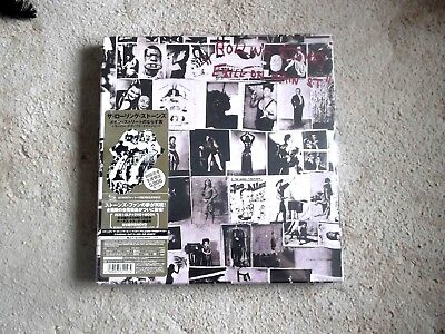 ROLLING STONES - EXILE ON MAIN STREET ; Rare oop Japanese-only Super Deluxe Box