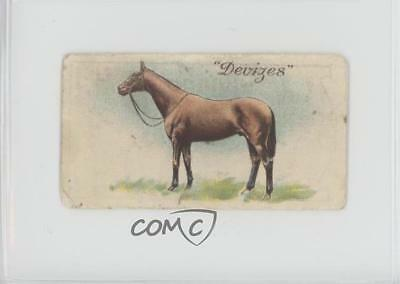 1922 Downland Horse Racing Series Tobacco Base #28 Devizes MiscSports Card z6d