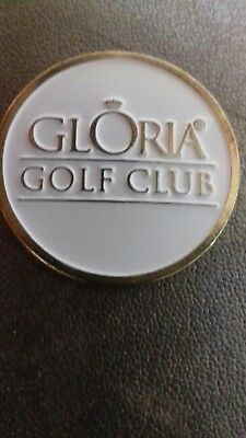 Gloria Golf Club Ball Marker