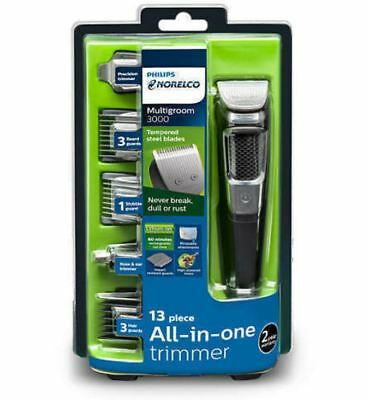 Philips Electric Trimmer Clipper Razor, Face Head Nose Hair Beard Shaver For Men
