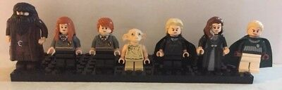 7 Harry Potter Lego Mini Figures Mint Condition Rare Heroes And Villains