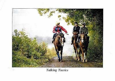 Limited Edition Print Talking Tactics Number 517 Of 750 Elite Racing Club 1999