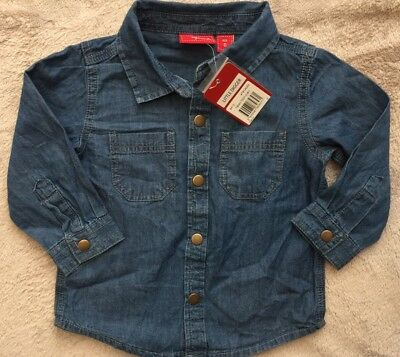 SPROUT long Sleeve Denim Shirt Size 0 *BNWT*. 10 Items = $5 Post