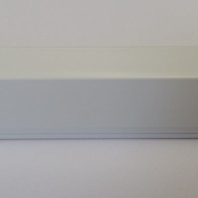 1M Cable Channel White 19x16mm Self Adhesive, Connector Available