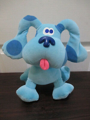 11 Inches Tall Eden LLC 'Blues Clues' Soft Toy Plush Very Good Clean Condition