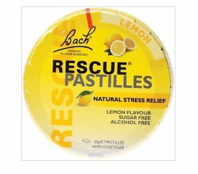 3 x 50g MARTIN & PLEASANCE Rescue Pastilles Lemon Flavour 150g Stress Relief