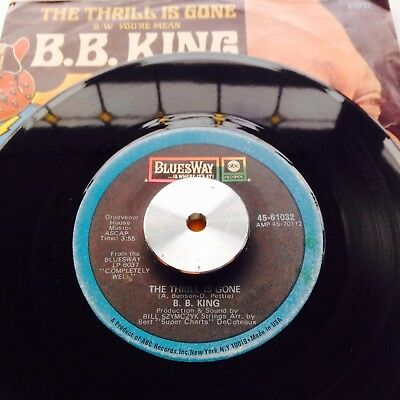 ** Blues ** B.b. King - The Thrill Is Gone ** Ex