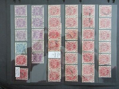Australian Pre Decimal Stamps on Hagners - Excellent Items, Must Have! (9469)