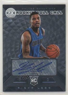 2013-14 Totally Certified Rookie Roll Call Signatures Silver #33 Ricky Ledo Auto