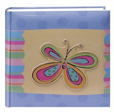 Pioneer Photo Albums 200-Pocket 3-D Striped Butterfly Applique Cover Photo 4 by