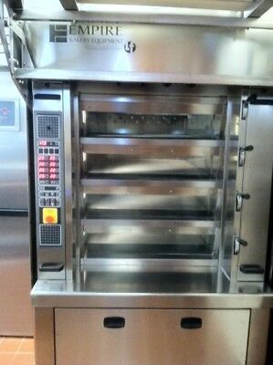 Empire Mini Tube Deck Oven with Easy Loader, Model: LFM-4-80X100MSR