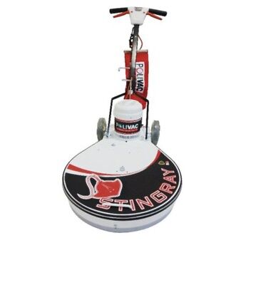 500mm Electric Floor Burnisher Stingray Ultra High Speed Machines Polivac