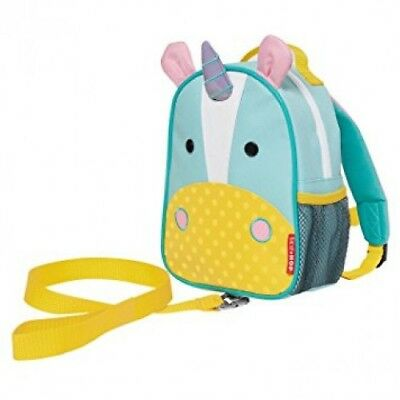 NEW Skip Hop Zoo-Let Mini Backpack with Rein Unicorn - Kids Toddler Harness Bag