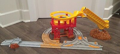 Fisher Price Geotrax Lift'n Load Quarry K7113