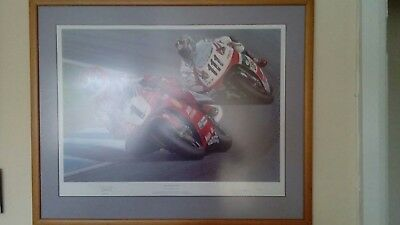 carl fogarty 1 AND ONLY BY RAY GOLDSBROUGH STUNNING PHOTO 661/750 PRICELESS