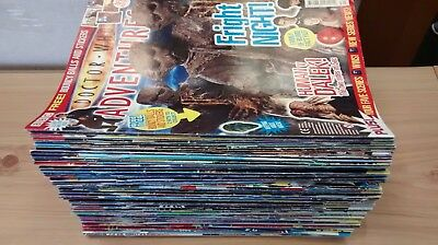 Doctor Who Adventures Magazines x 110+ LOOK Buy Now FREE POST !