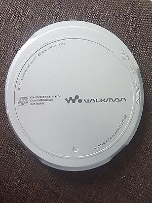 Sony Discman Personal Portable Cd Player D-Ej1000
