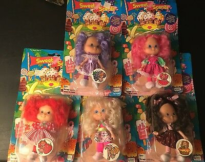 Vintage Sweet Scents Lot Of Scented Dolls Very Rare Strawberry Toys N Things