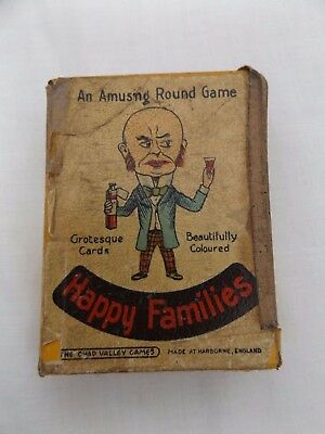 Vintage Chad Valley Happy Families Card Game