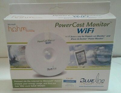 Blueline Innovations PowerCost Monitor WiFi Microsoft HiOHM Compatible