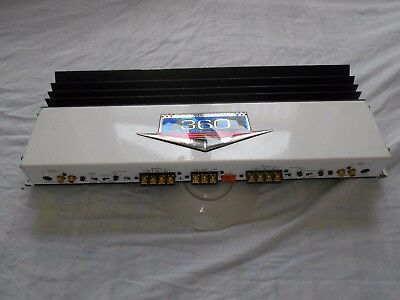 """ZAPCO AG360 """"American Graffity"""" by ARPA of America, High-End 4-Channel Amp"""