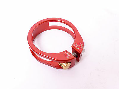 mr-ride Bling Bling 36mm Seat Clamp 13g CNC Red - fit 34.9mm Seatpost