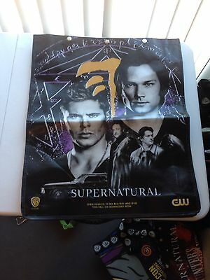 Supernatural 2015 Comic-Con Swag Bag (Tote, Backpack) SDCC Mark of Cain