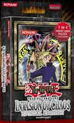 Yugioh    Invasion Of Chaos    Special Edition      Brand  New