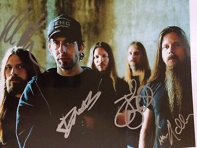 Lamb Of God Signed 8x10 Randy Blythe