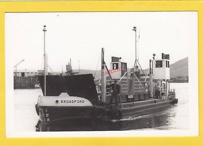 BROADFORD 1954 Caledonian Steam Packet Co car ferry  -    Photograph