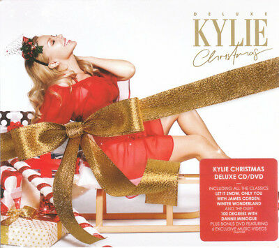 Kylie Minogue - Kylie Christmas (2015)  Deluxe CD/DVD  NEW/SEALED  SPEEDYPOST