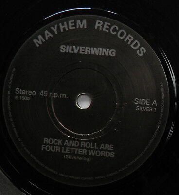"Silverwing-Rock And Roll Are Four-UK Vinyl 7""-DIY Private NWOBHM Metal-1980-HEAR"