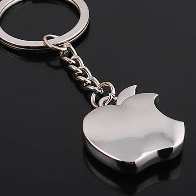 Metal Apple Key Chain Creative Gifts Key Ring Trinket car