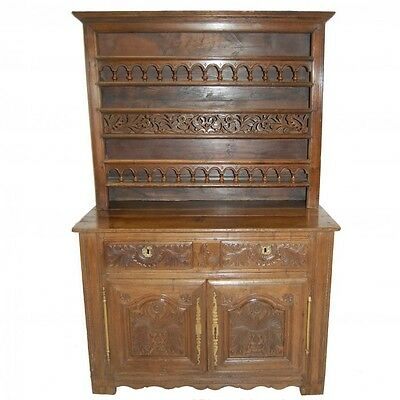 C18th French Chestnut dresser    Ref c622