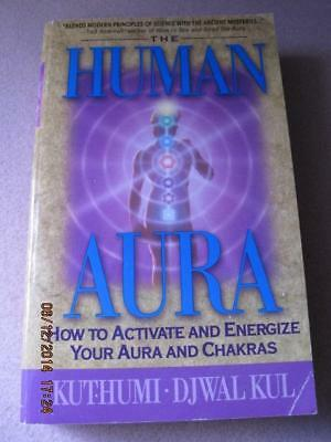 The HUMAN AURA Pocket Book 434 page How to Activate Your Aura & Chakras 1996