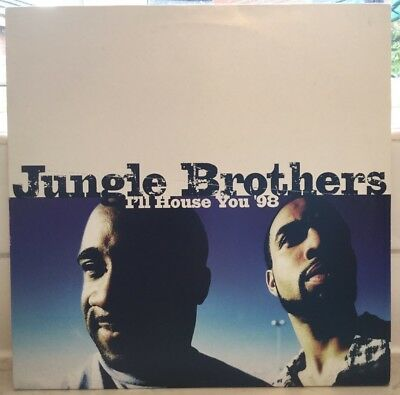 """Jungle Brothers - I'll House You '98 - 12"""" Vinyl Single - Electronic, House"""