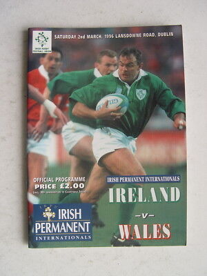 Ireland v Wales 1996 Rugby