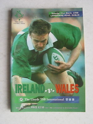 Ireland v Wales 1998 Rugby