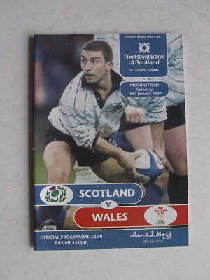 Scotland v Wales 1997 Rugby