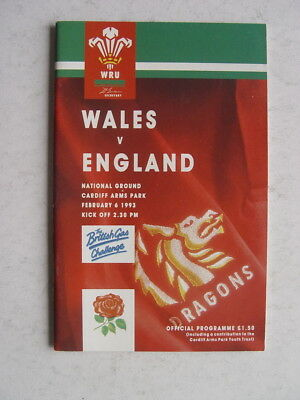Wales v England 1993 Rugby